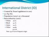 <h5>International District</h5>