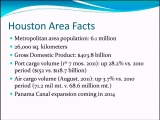 <h5>Houston Area Facts</h5>