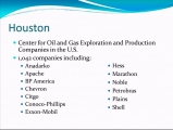 <h5>Houston - Center for Oil and Gas</h5>