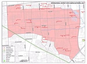 Hcc Alief Campus Map.Schools International Management District