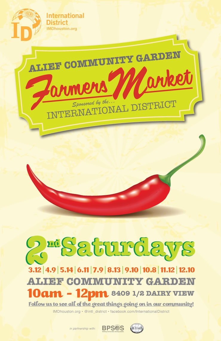 Upcoming Events Alief Community Garden Farmers Market