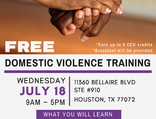 Free Domestic Violence Training, July 18