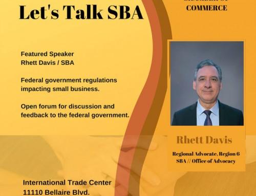 Let's talk SBA!