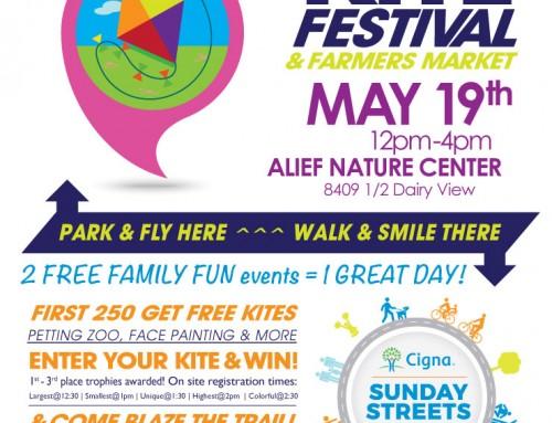 2019 Kite Festival & Farmers Market, May 19