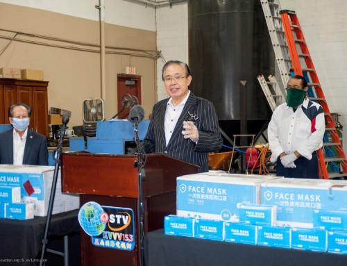 International District Donates 10,000 PPE Masks to Mayor Turner's Coronavirus Taskforce