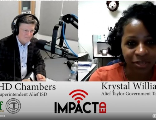 Alief ISD: ImpactED Podcast – Racial Injustice and How to Champion Youth to Affect Change