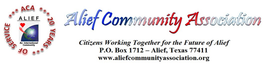 Quarterly Alief Networking Breakfast – May 6, 2014