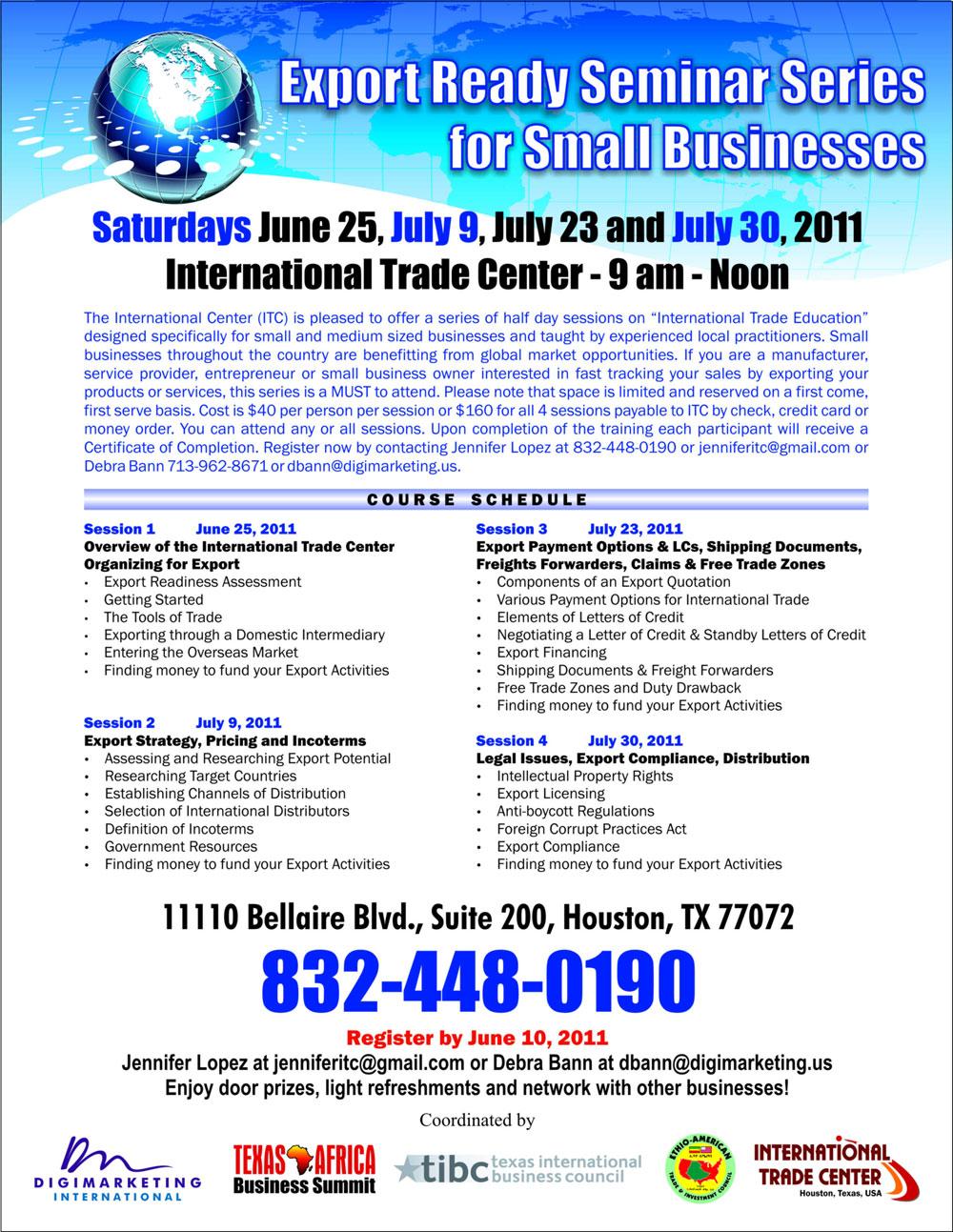 IMD Export Seminar June1