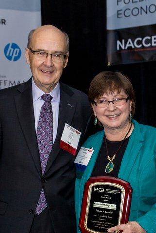 Sandra-Louvier-NACCE-Impact-Award